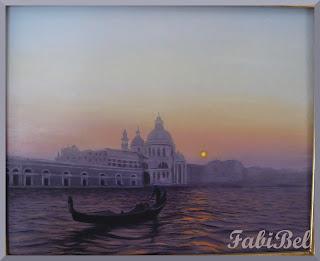 huile sur toile venise oil on canvas venezia