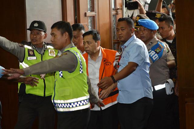 Setya Novanto Terancam Hukuman Maksimal