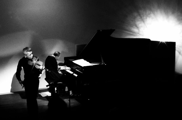 喜多直毅(ヴァイオリン)田中信正(ピアノ)2017年7月14日@sonorium(東京・永福町)