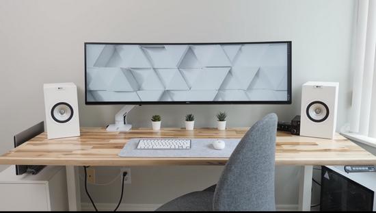 Geniş+Büyük+yükseklik+ayarlı+çalışma+masası