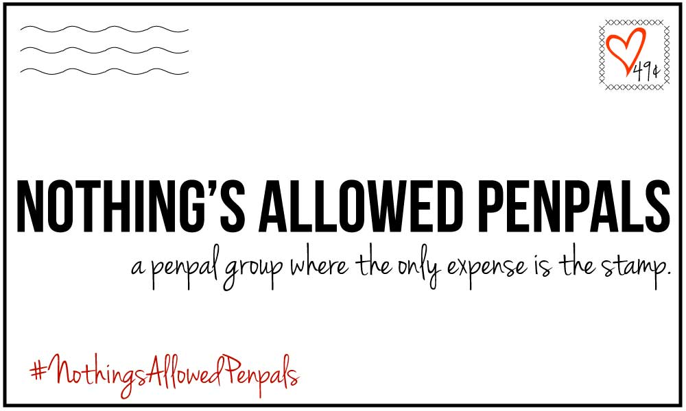 Nothings Allowed Penpals