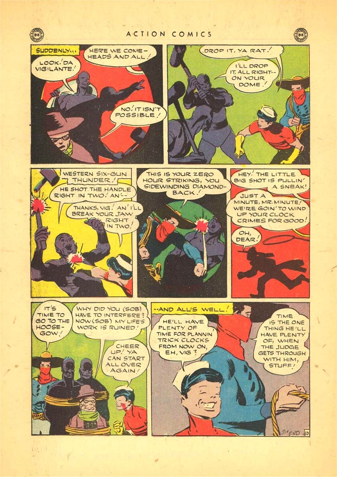 Read online Action Comics (1938) comic -  Issue #92 - 32