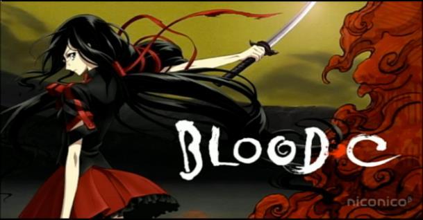 Blood-C - Daftar Anime Gore Terbaik