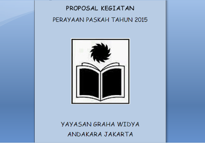 Contoh Proposal PASKAH Terbaru
