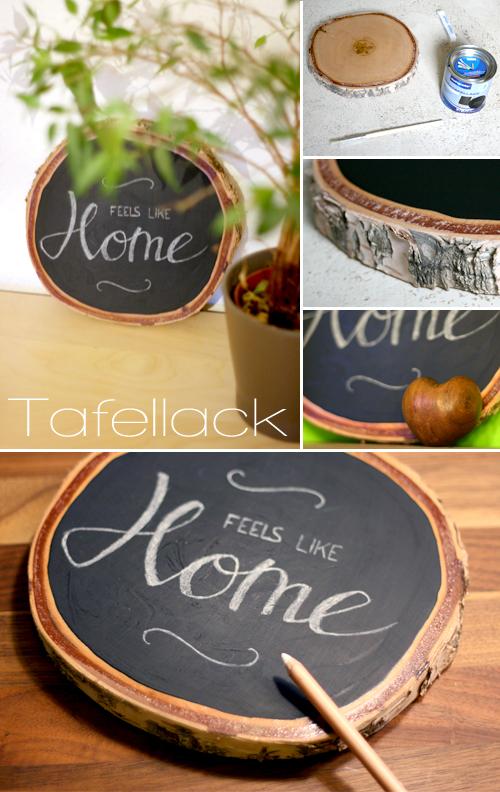 tafellack und holz gingered things der diy bastel blog rund um deko geschenke und einrichten. Black Bedroom Furniture Sets. Home Design Ideas