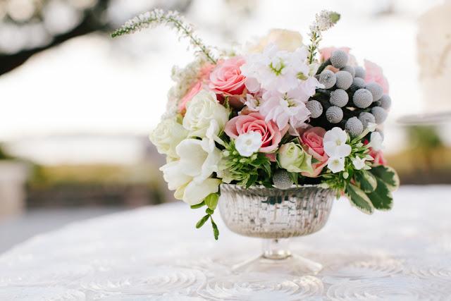shabby+chic+wedding+spring+summer+pastel+champagne+pink+black+white+bride+groom+bouquet+ceremony+centerpiece+floral+flower+bridesmaid+dresses+dress+riverland+studios+14 - Charleston Pastel