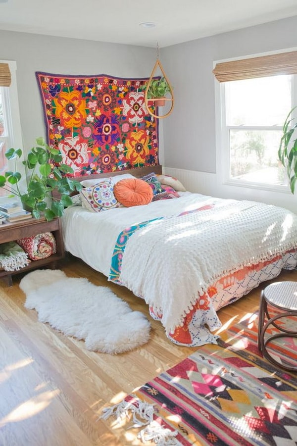 Bedrooms Decoration With Lots of Colors Combination - Best Colors Combination 10
