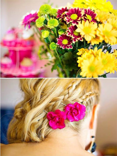 Beauty Hairstyle - loczki + mini warkoczyki