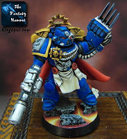 Space Marines Commander with Lightning Claw and Meltagun
