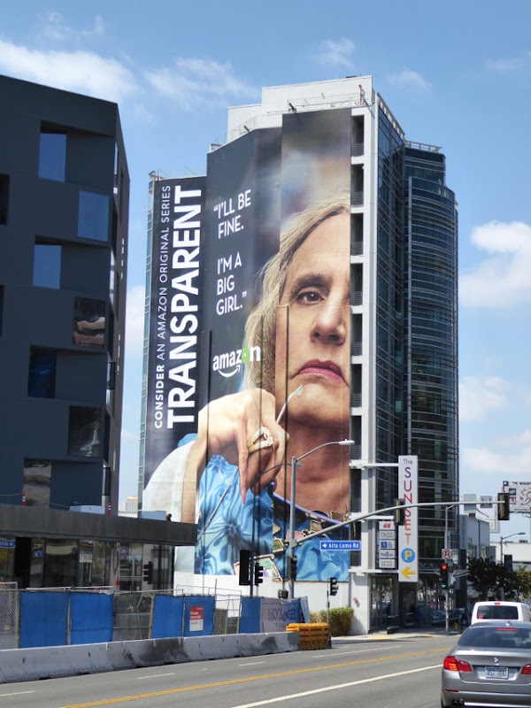 Giant Transparent 2016 Emmy consideration billboard