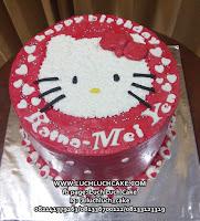 Hello Kitty Buttercream Cake Untuk Anak Cewek