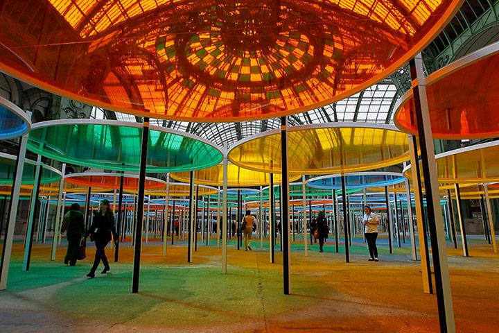 Public Art Network: Daniel Buren artwork opens in Paris