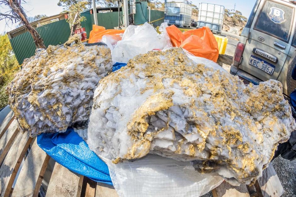 15 Million Dollar Gold Mother Load Discovered In Australia
