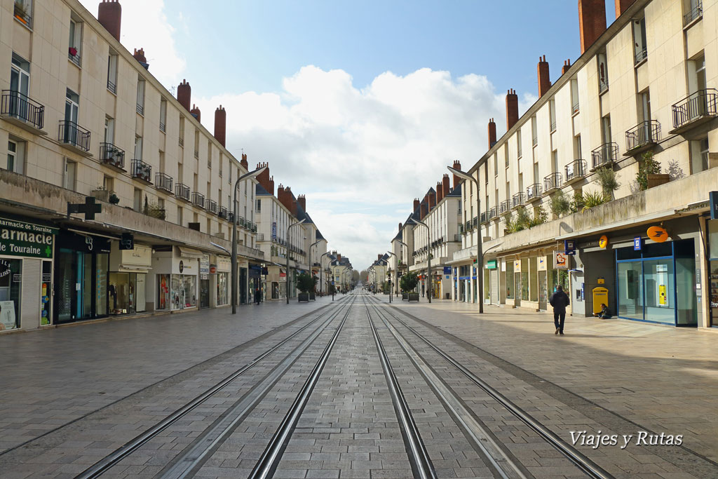 Rue Nationale, Tours