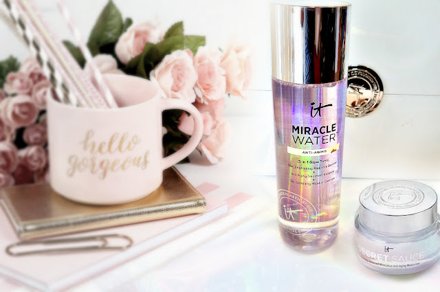 Itcosmetics Miracle Water, which is a 3 in 1 Tonic  By Barbies Beauty Bits