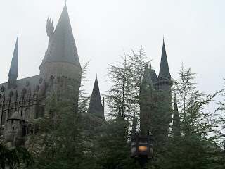 Harry Potter Castle at islands of adventure in orlando, florida