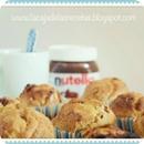 Muffins de platano y nutella