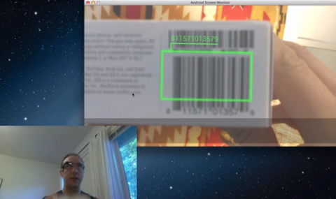 "The research institute Icare joined the program ""Glass Explorer"" and develops Glass Explorer reading apps Glass Explorer barcode apps with glasses connected Glass Explorer, A barcode reader for Google Glass with Glass Explorer."