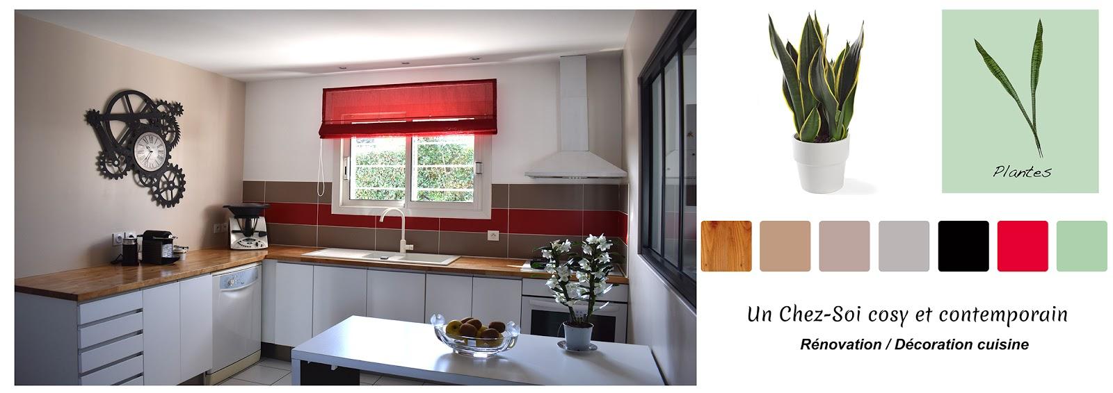D coratrice d 39 int rieur bordeaux de styles en for Deco cuisine 1950