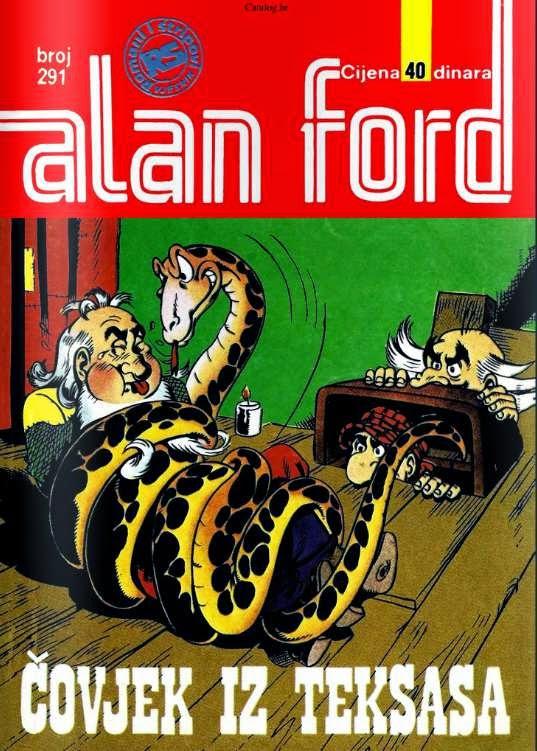 Covjek iz Teksasa - Alan Ford