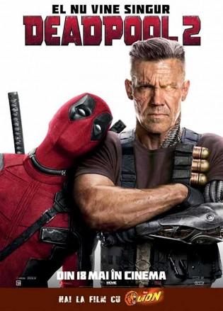 Deadpool 2 2018 Dual Audio ORG DD 5.1ch 720p BRRip 1.3Gb x264