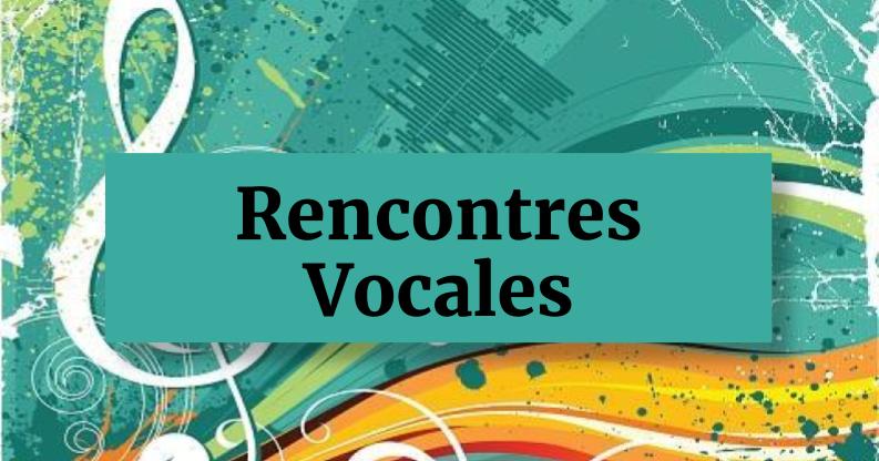 Rencontres vocales 2017