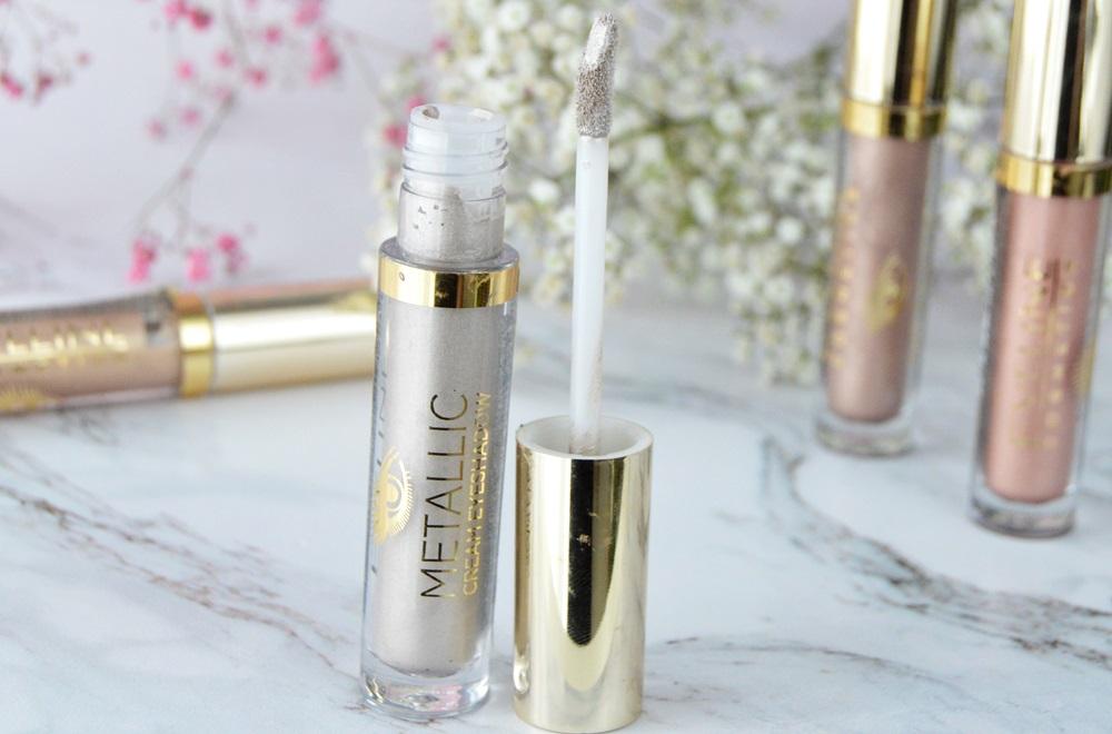 Eveline Cosmetics Mettalic Cream Eyeshadow - metaliczne cienie w kremie