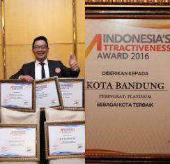 Kota Bandung Raih 5 Penghargaan Nasional 2016
