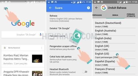 Cara Menggunakan Ok Google Secara Offline di Android