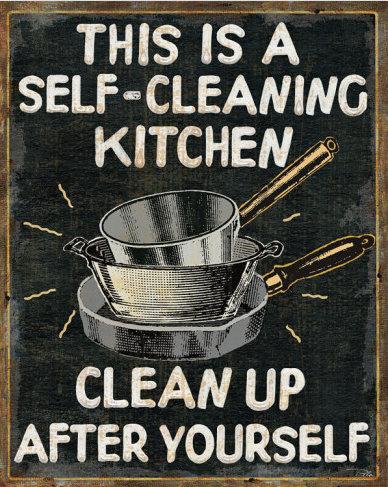 Kitchen Clean Up Quotes Quotesgram