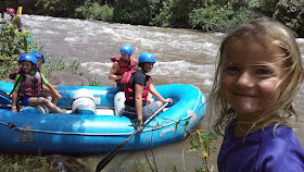 Family-friendly white water rafting
