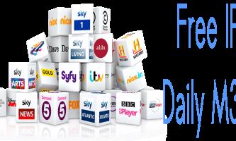 Free IPTV Daily M3U Playlists 31 October 2017