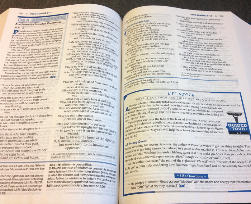 Niv Study Bible  NIV Study Bible Bonded Leather, Black 9780310437437