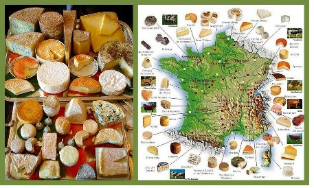 C&C - Les fromages en France