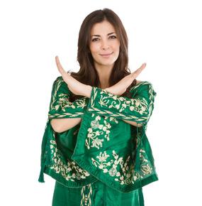 Marokańskie kobiety na weselu nie chciały żeby robić im zdjęcia