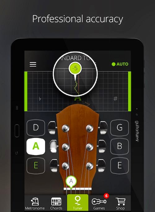 5 best guitar tuner apps for android hdpixels. Black Bedroom Furniture Sets. Home Design Ideas