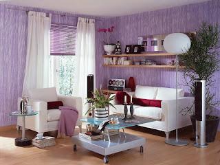 sala color lila