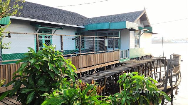 Salah satu rumah di Mentaya Seberang