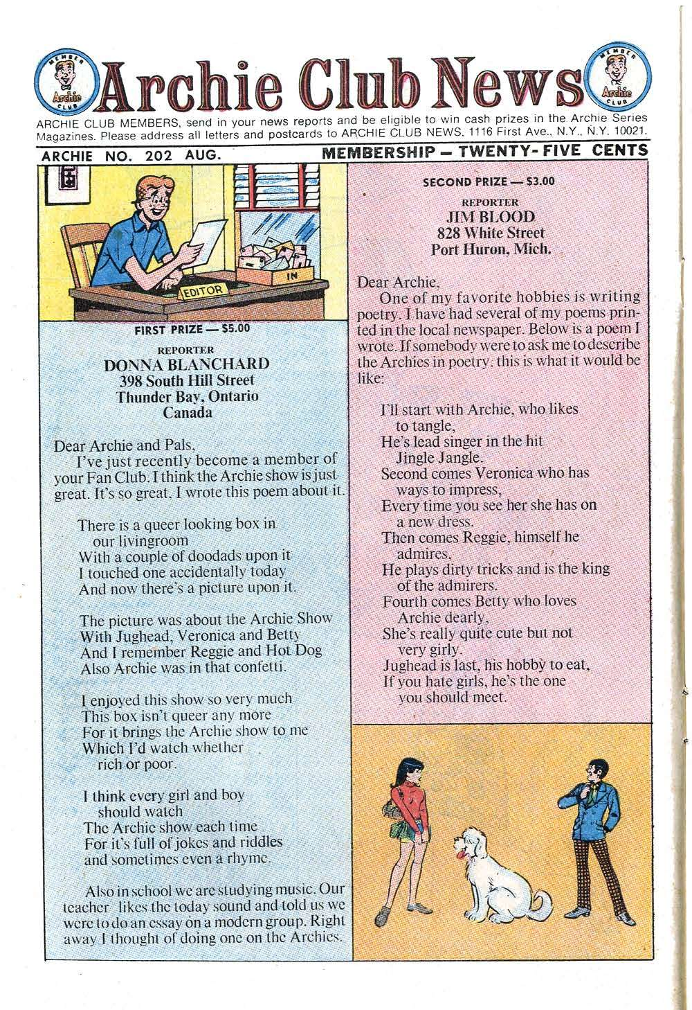 Read online Archie (1960) comic -  Issue #202 - 10