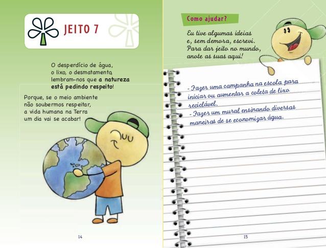 oito jeitos de mudar o mundo para criancas
