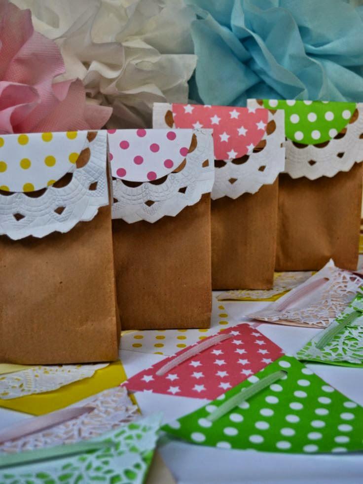 Ideas para decorar con blondas tutoriales para fabricar - Bolsas para decorar ...