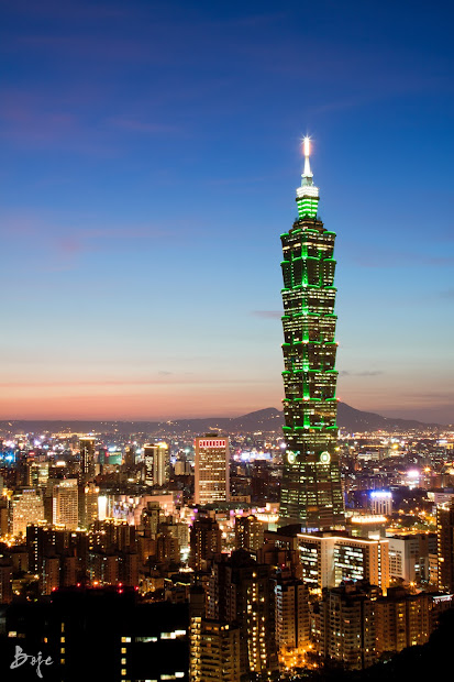 Taiwan And . Taipei 101 Elephant Mountain Orientation Day 1