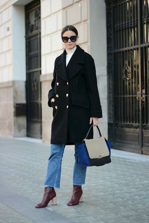 jak odświeżyć stary płaszcz, porady stylistki, jak nosić, płaszcz, inspiracje, inspiration, porady, fashion inspiration, jesień , zima, stylizacje, świat kobiet, zestawy ubrań, naszywki, płaszcz, jak nosić płaszcz, złote guziki, militarny styl