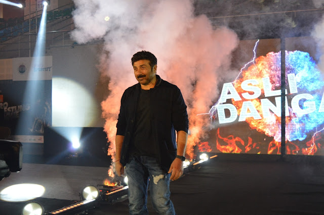 Sunny Deol supports NCR Punjab Royals Team Pro-Wrestling League Season 2