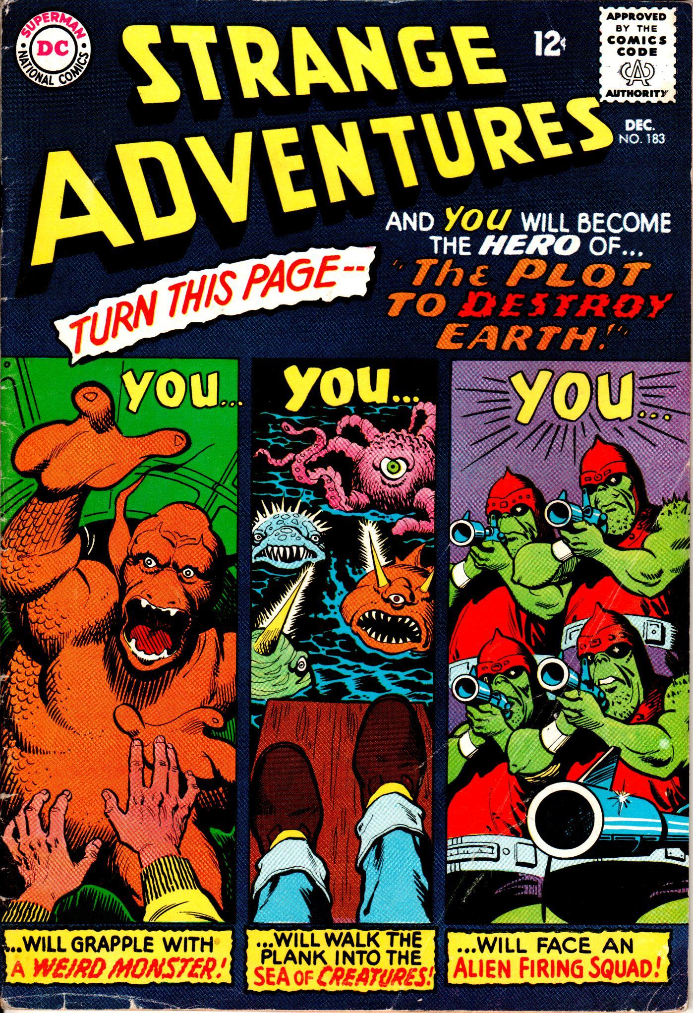 Strange Adventures (1950) issue 183 - Page 1