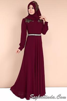 sonbahar kış abiye elbise modelleri