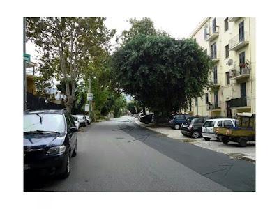 area parcheggi in Via Altofonte - quartiere Pagliarelli