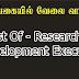 Vacancies In SriLanka  Post Of - Research & Development Executive