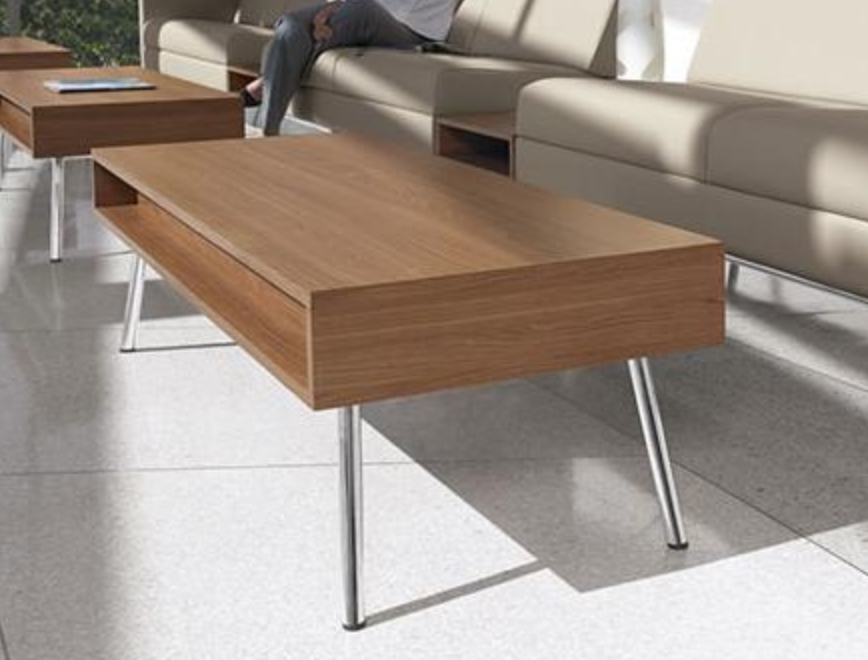 Wind Linear Series Contemporary Coffee Table