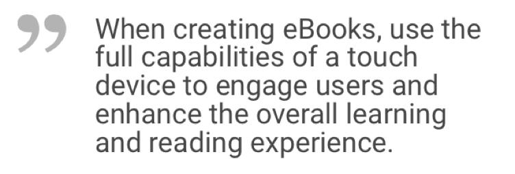 benefits of developing an e-book mobile app